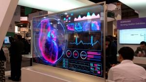 Samsung OLED Display at HIMSS 2016  Credit Samsung